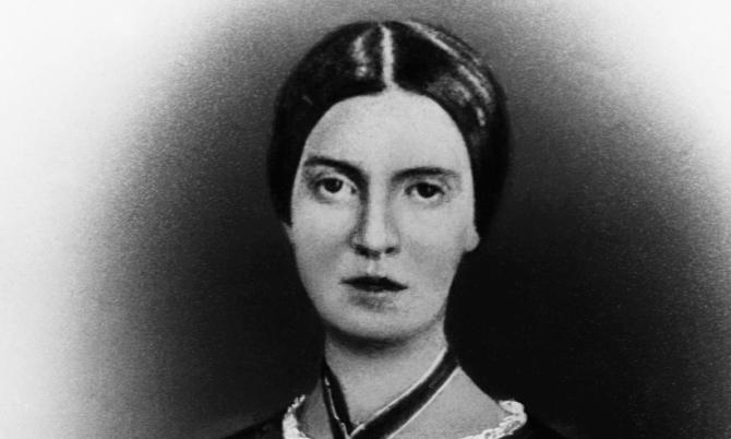 Emily Dickinson … fashioned greatness out of simple materials.