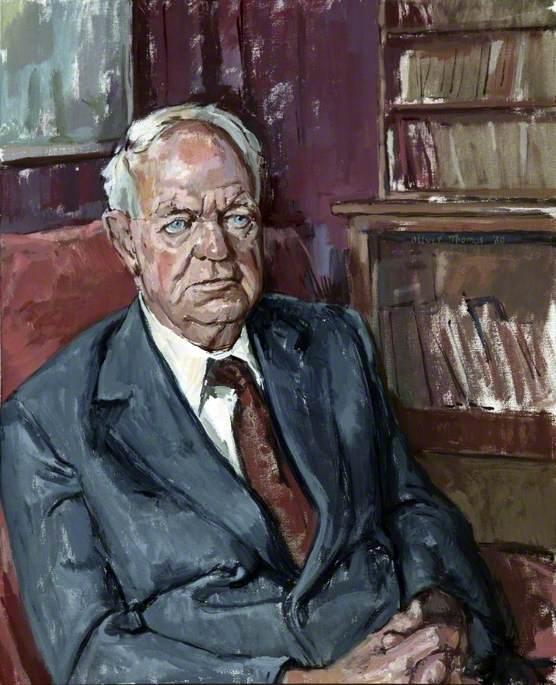 Thomas, Oliver, 1919-2010; Professor George Lennox Sharman Shackle (1903-1992), Brunner Chair of Ecomonic Science, University of Liverpool (1951-1969)